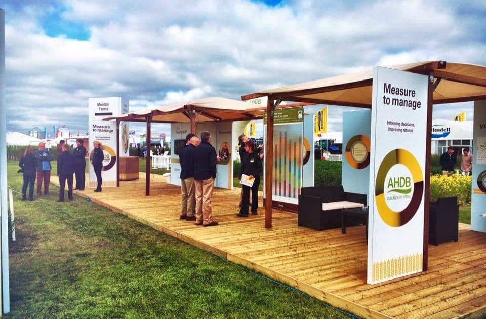 AHDB - Event Display Stands