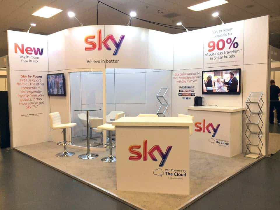 Sky Business modular exhibition stand