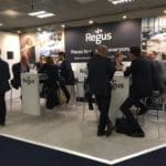 Exhibition stand success for Regus