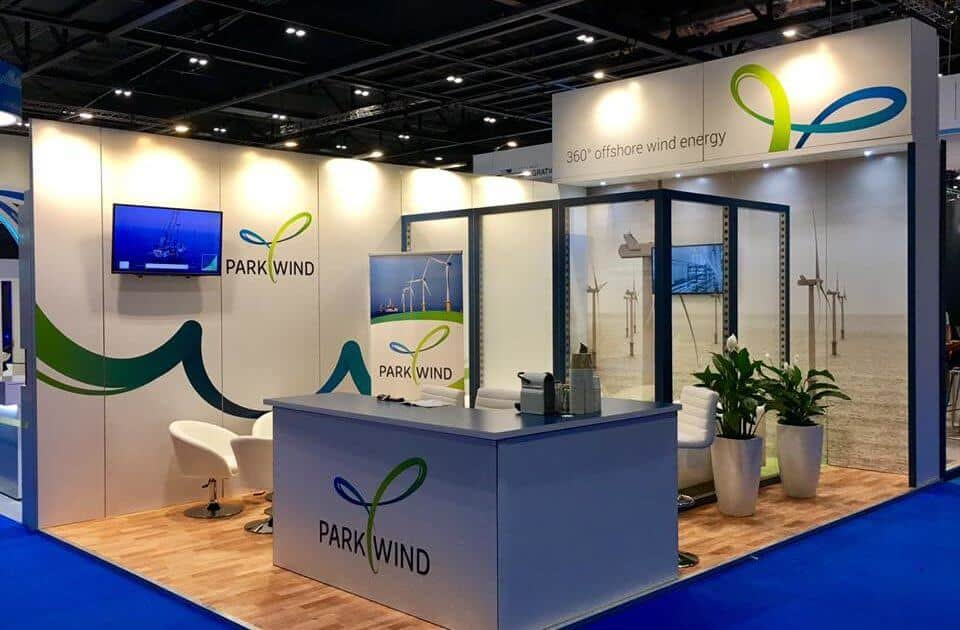 Park Wind at Offshore Wind Energy 2017-  6m x 2m