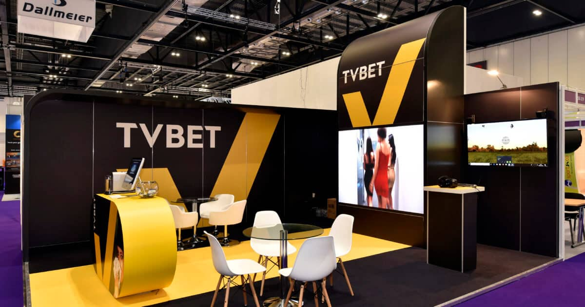 TV Bet at ICE 2019 – 6m x 5.5m