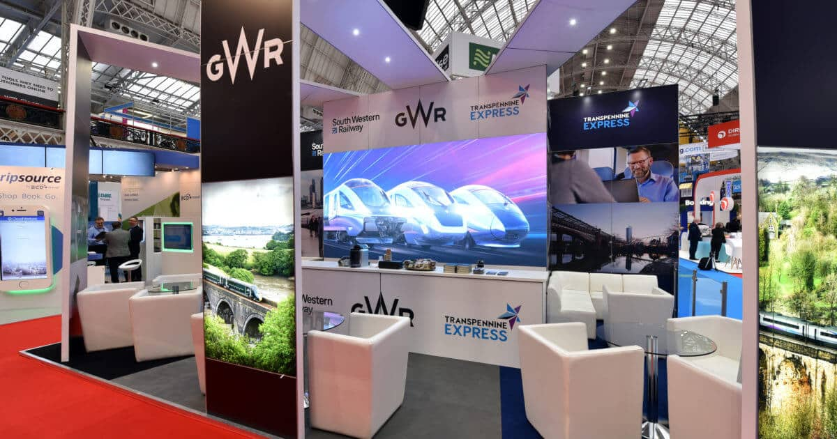GWR at Business Travel Show 2019 – 8m x 5m