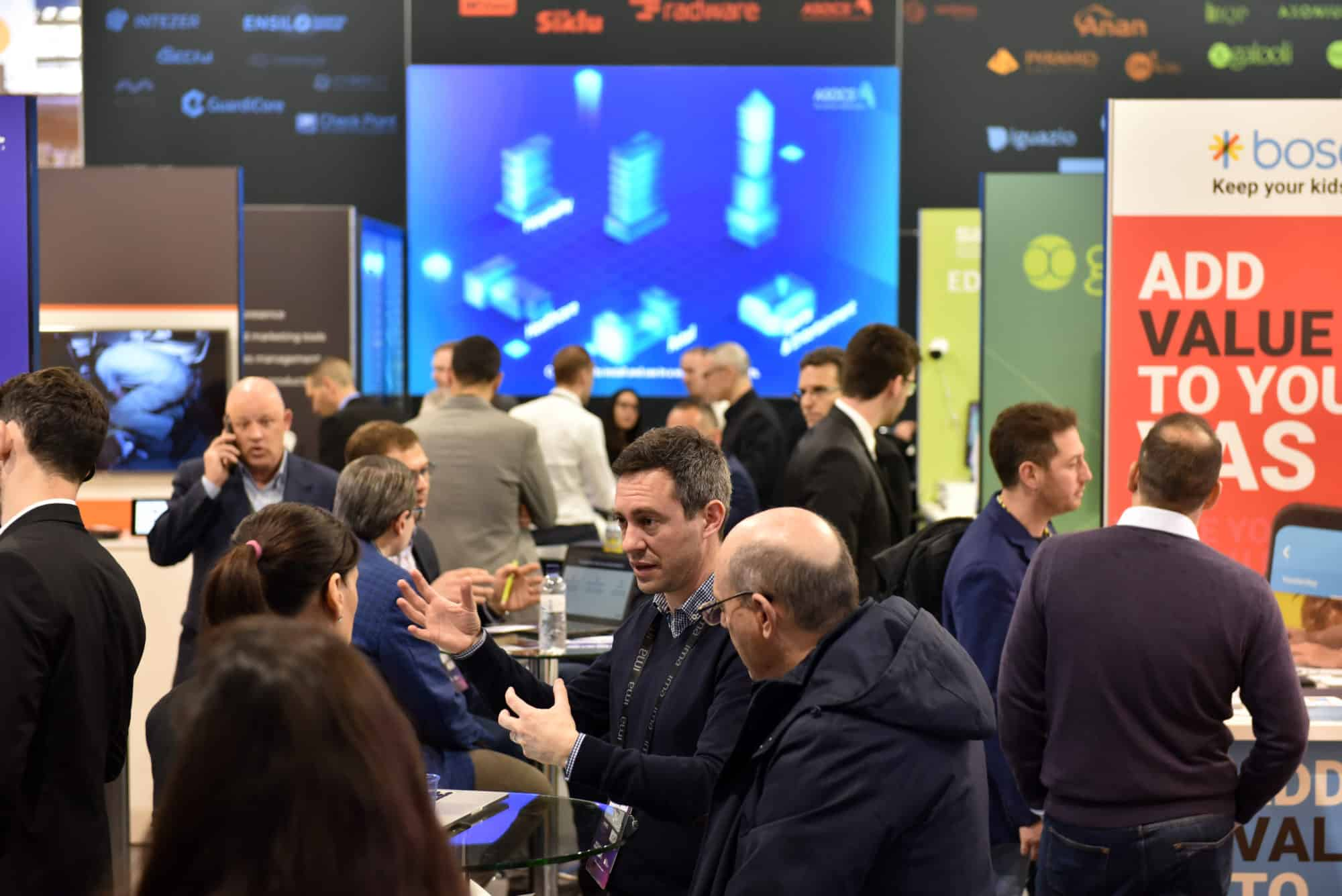Networking Area on IMA Pavilion at MWC Barcelona 2019