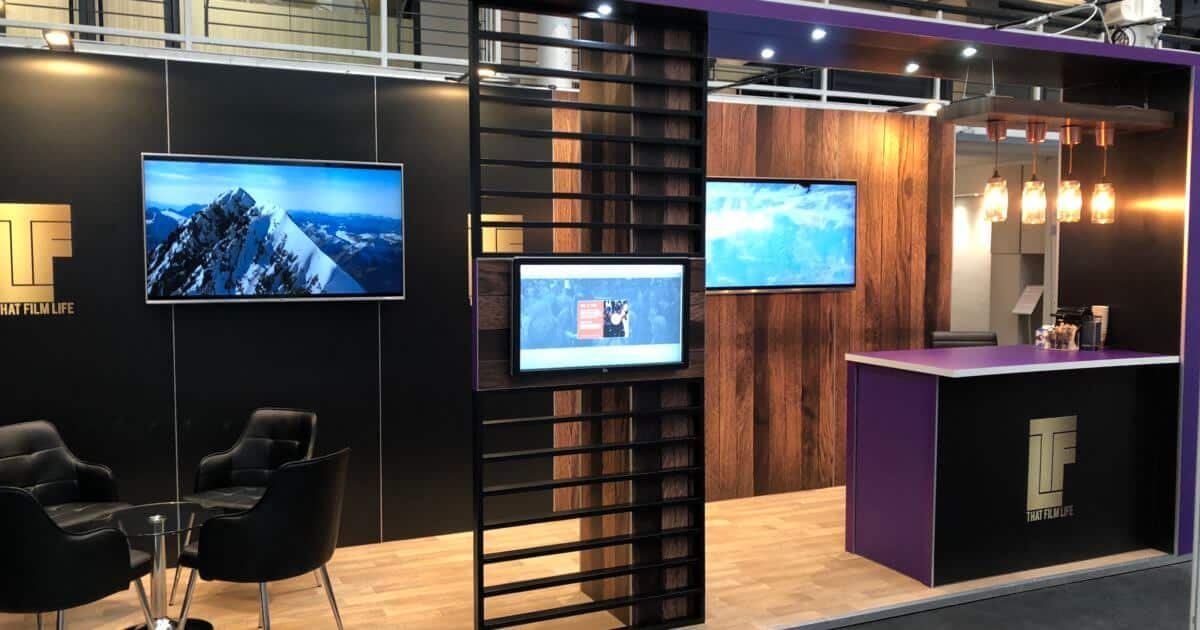 Carnaby Films at Master Investor 2018 – 6m x 2m