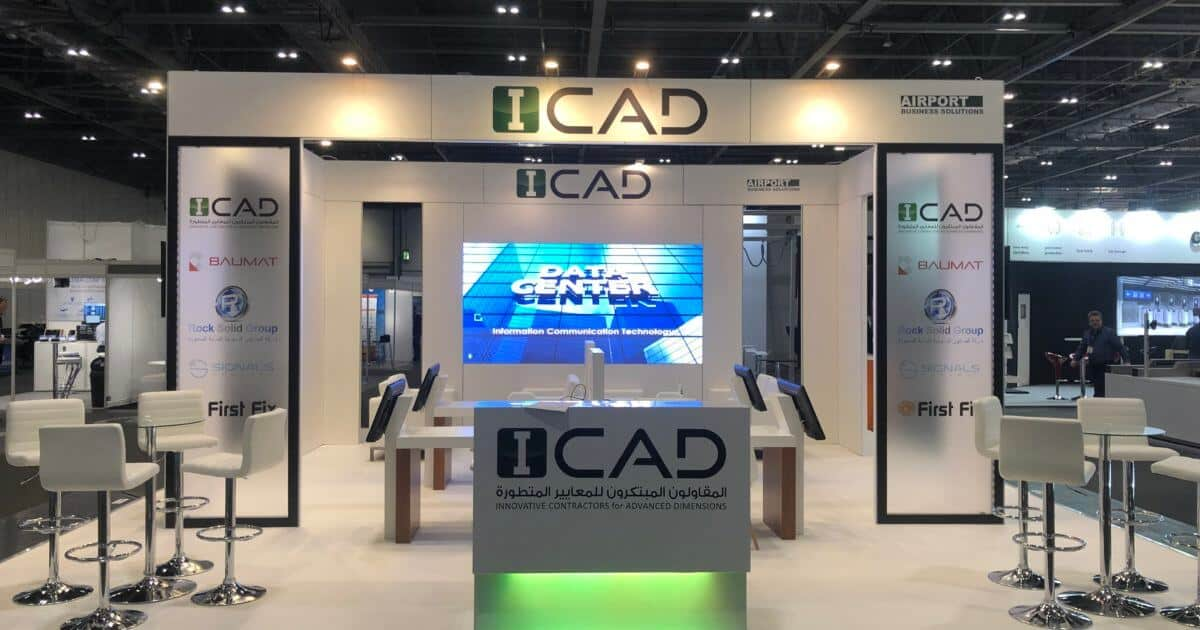 ICAD at the Passenger Terminal Expo- 8m x 9m