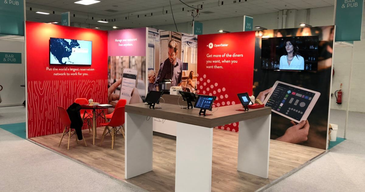 OpenTable at The Restaurant Show 2019 – 5m x 4m