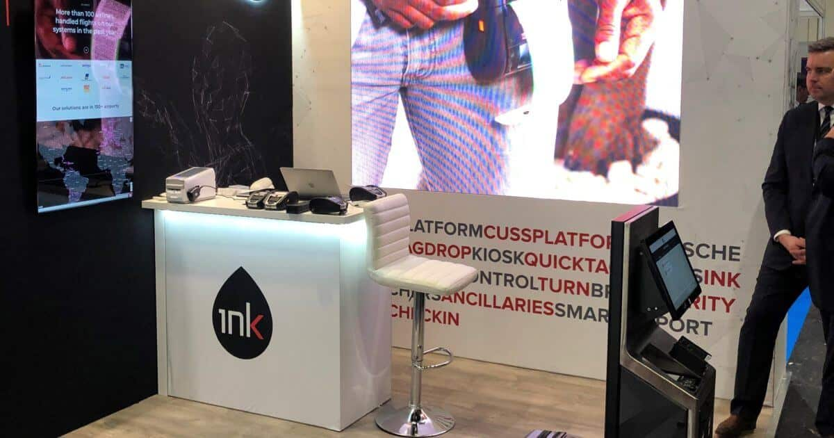 Ink Aviation at Passenger Terminal Expo – 3m x 3m