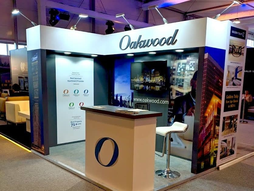Oakwood at the Arabian Hotel Investment Conference – 3m x 2m