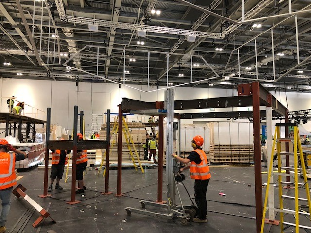 Exhibition Stand Fitter Jobs London : Installation & dismantle of display stands symbiosis