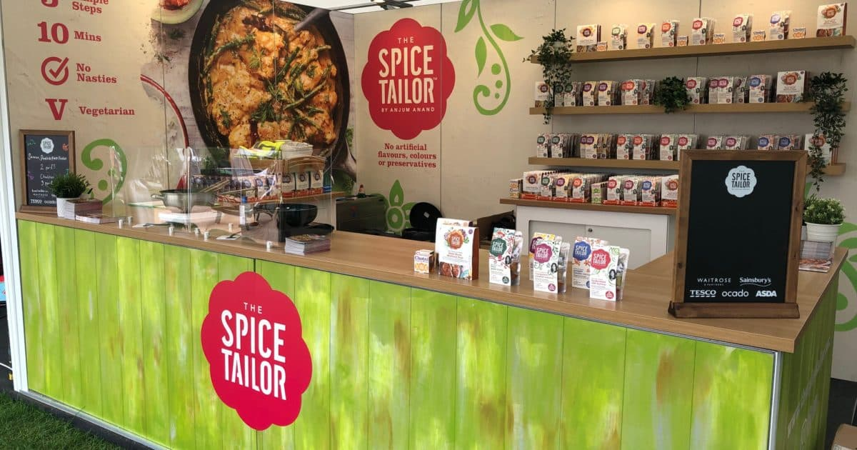 Ceres & Spice Tailor at Taste of London 2019 – 4 x 3m