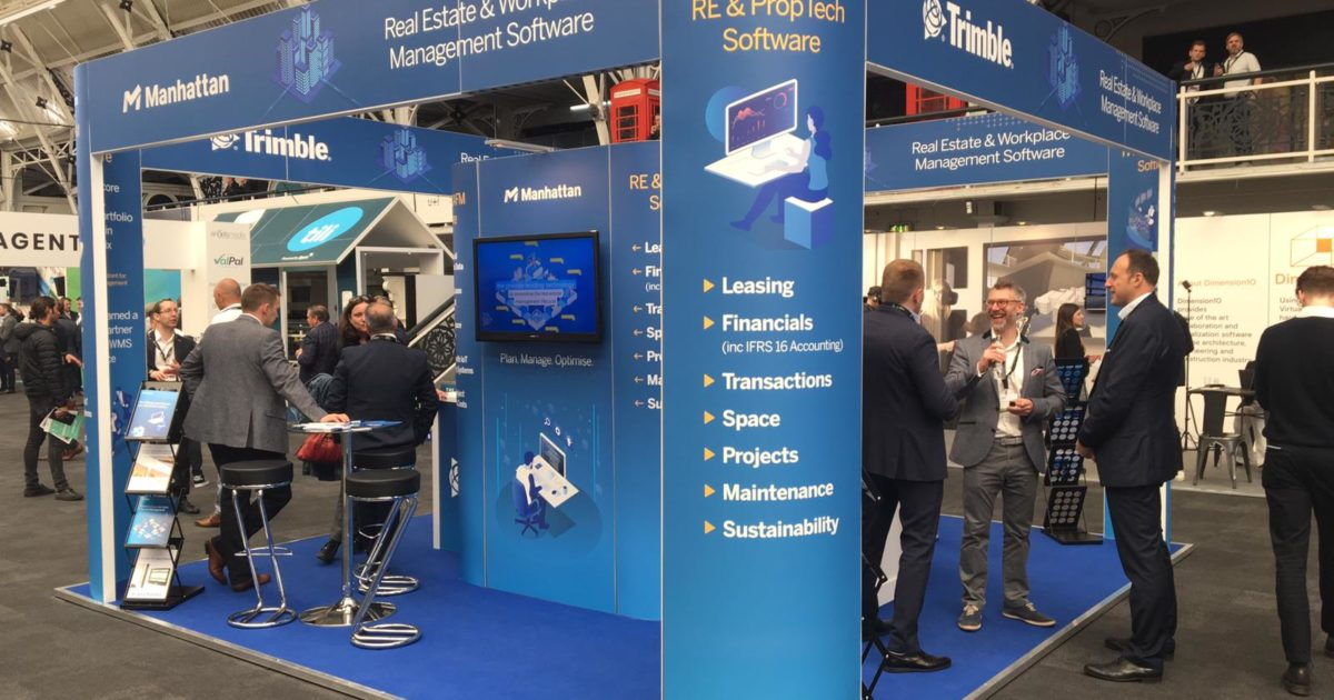 Trimble at Future PropTech 2019 – 6m x 6m