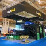 Bet365 doble decker exhibition stand