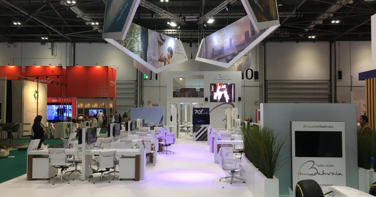 Bahrain Tourism & Exhibitions Association at WTM 2019 (306m²)