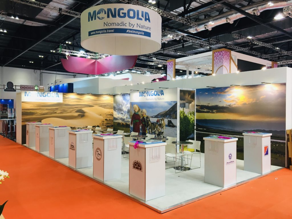 WTM London exhibition stand