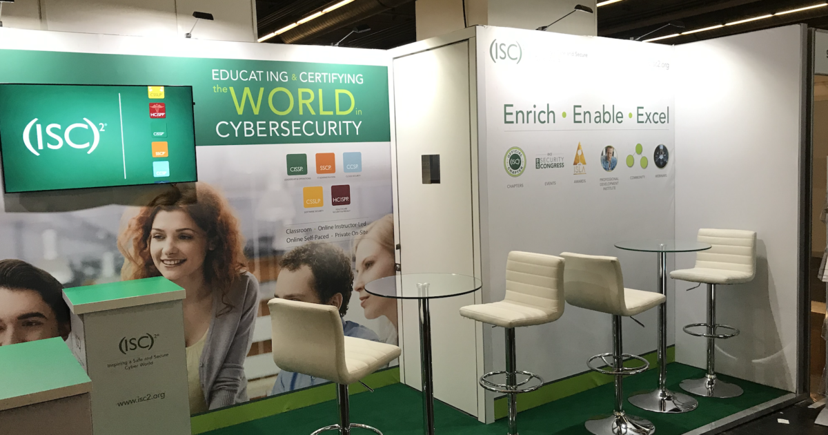 (ISC)2 at Tech Week Frankfurt