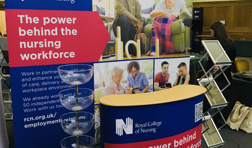 Royal College of Nursing at Care England Conference