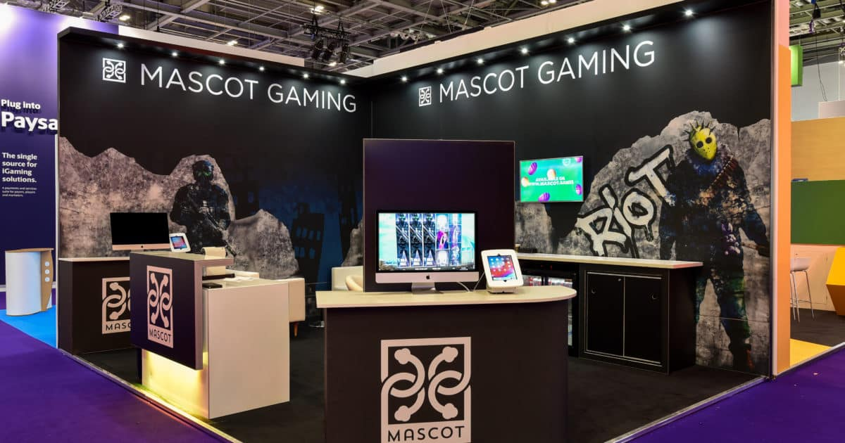 Mascot Gaming at ICE Totally Gaming 2020