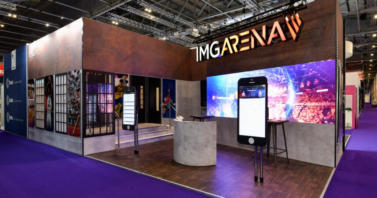 IMG Arena Main Stand at ICE Totally Gaming 2020