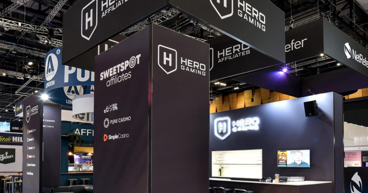 Hero Gaming at iGB Affiliate London 2020