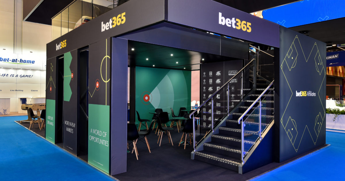 Bet365 at iGB Affiliate London 2020