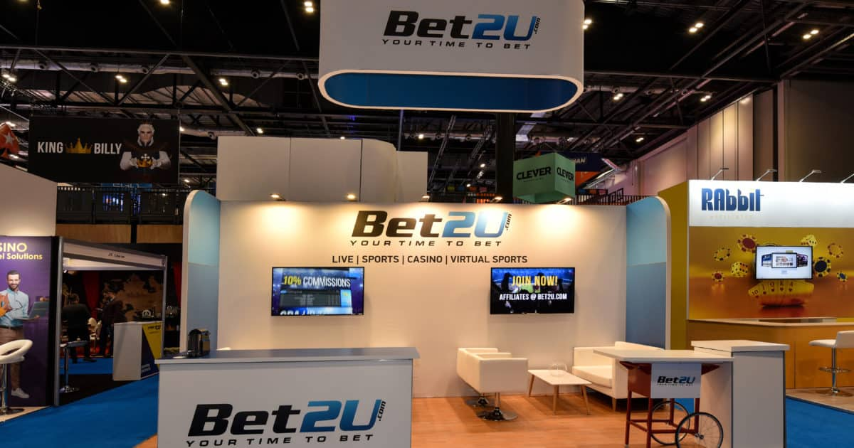 Bet2U at iGB Affiliate London 2020