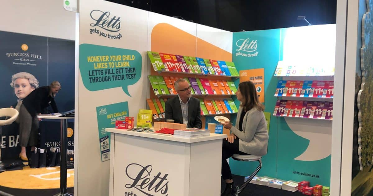 Harper Collins Letts Publishers at The Independent Schools Show 2019