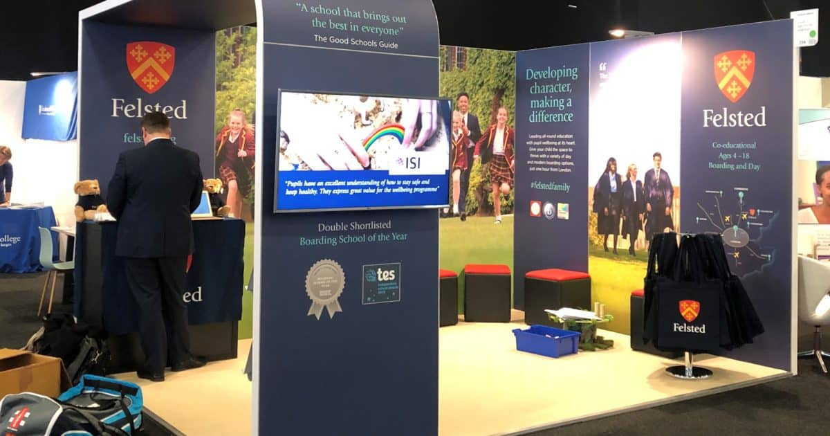 Felsted School at The Independent Schools Show 2019