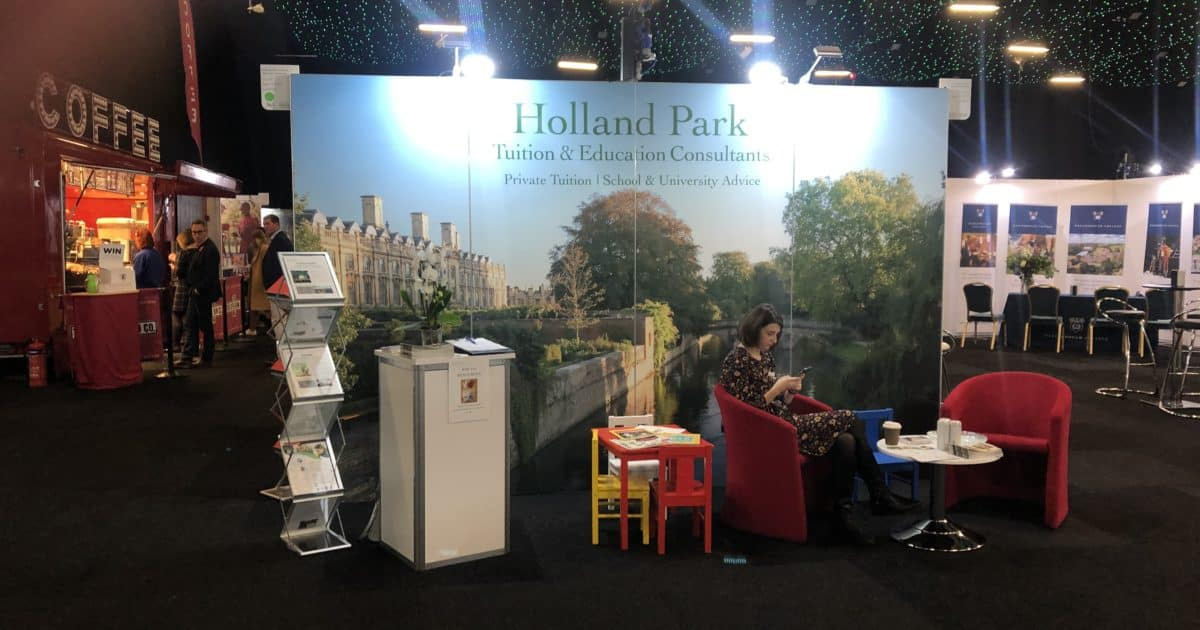 Holland Park Education at The Independent Schools Show 2019