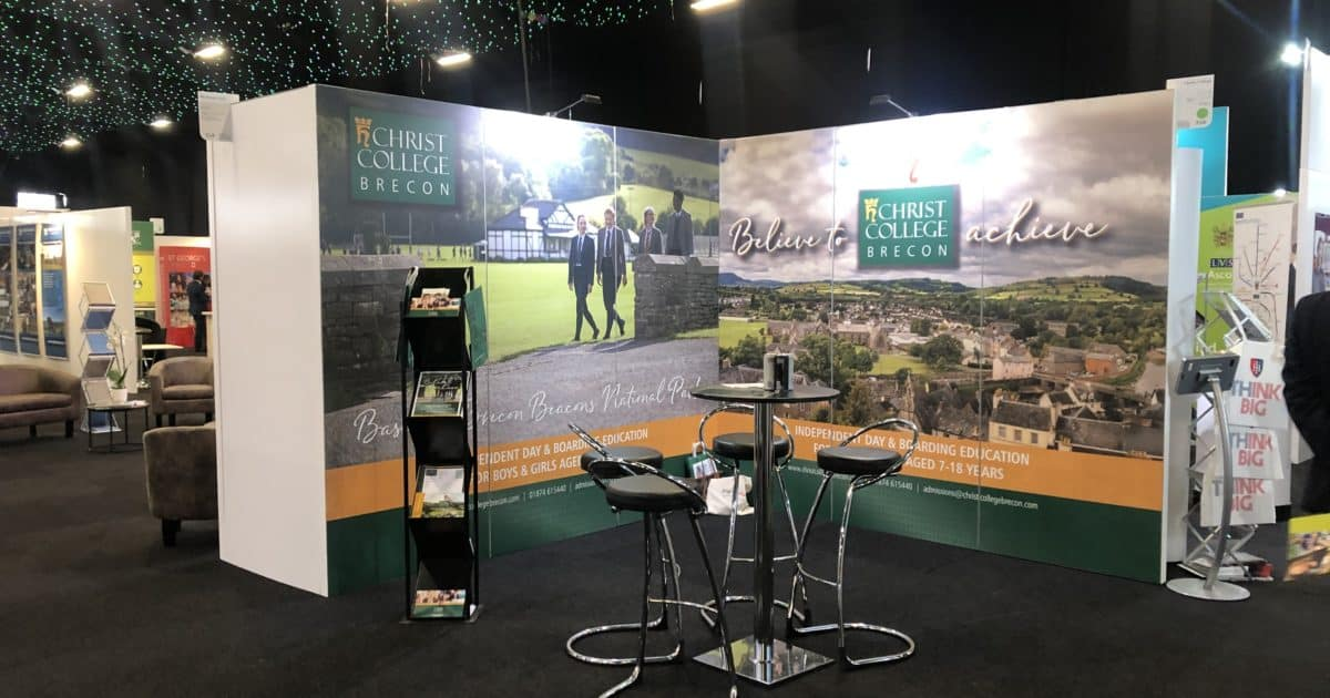 Christ College Brecon at The Independent Schools Show 2019
