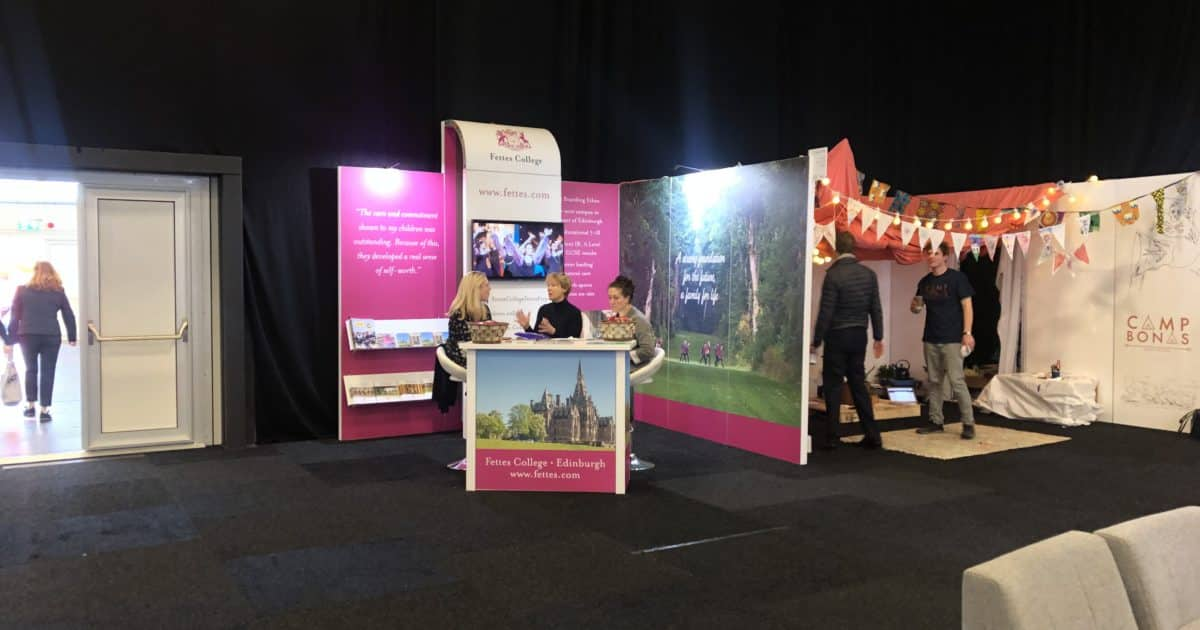 Fettes College at The Independent Schools Show 2019