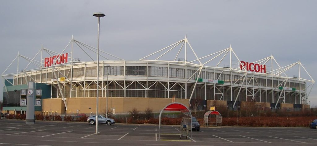 The Ricoh Arena Coventry